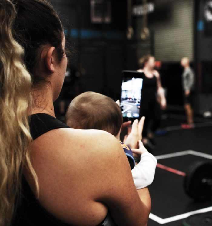 Elli HAchmann Home Workout After Baby
